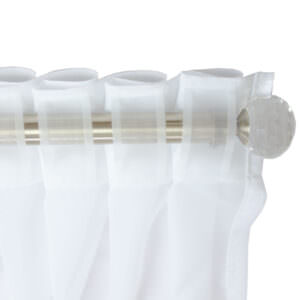 Hidden Tab Top Voile Curtains