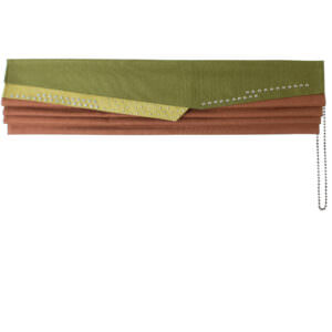 Clutch Roman blind is a new contemporary design. Made to Measure.