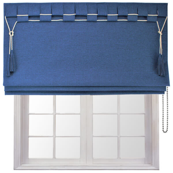 Victoria Roman blind features a unique design that is a versatile option for absolutely any room.