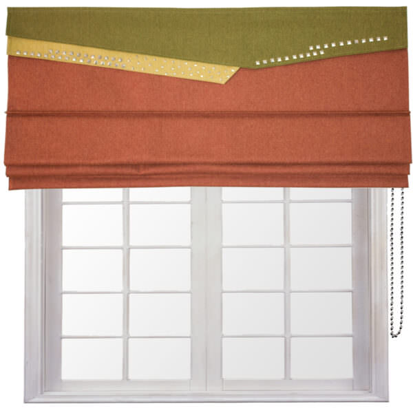 Clutch Roman blind is a new contemporary design.