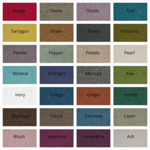 Design-JR fabric sample card
