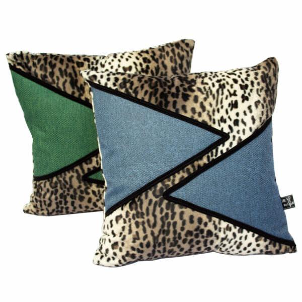 Vega+ pony skin animal print cushion