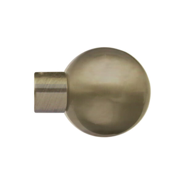 H5016F_Burnished Brass finial for LUNAR 28mm POLE by from Design-JR