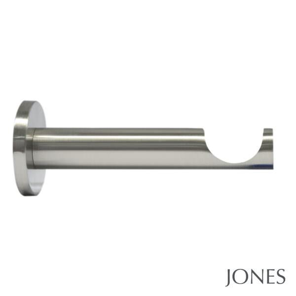 H6028BB_Matt Nickel barrel brackets for 28mm pole by from Design-JR