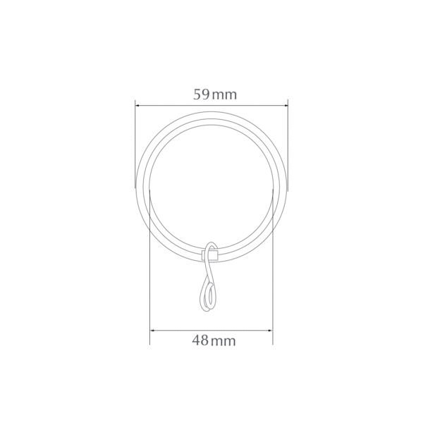 H6028R pole ring by from Design-JR