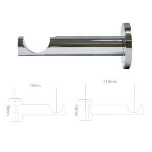 110mm-&-70mm-BRACKET-chrome-for-35mm-pole